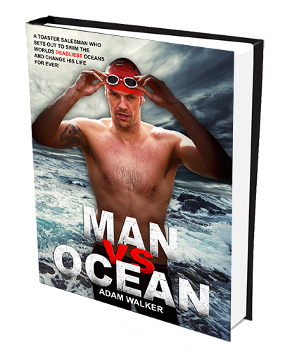 Man vs Ocean Book by Adam Walker
