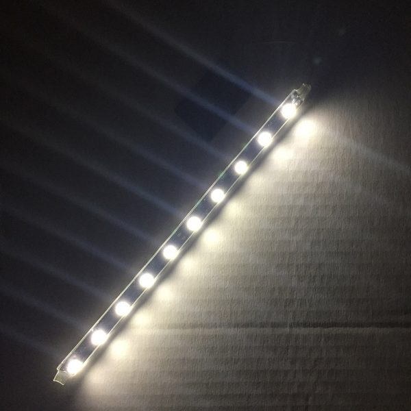 LED safety light for swimmers