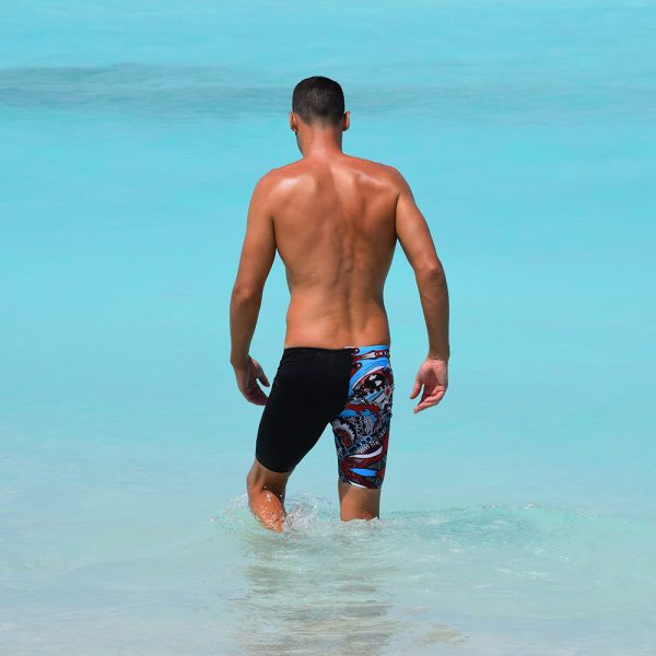 Zoggs swim shorts colourful print