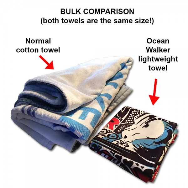 TOWEL - Quick Dry and Lightweight by Ocean Walker